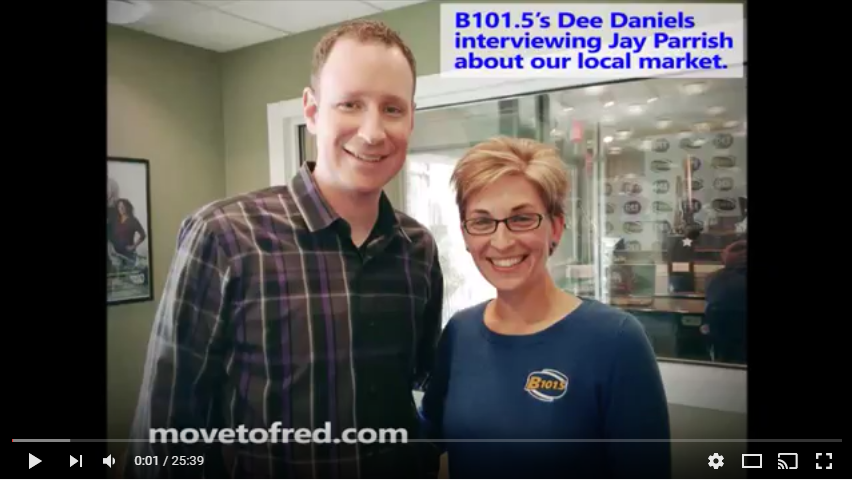 365 Things in #FXBG  | Sunday Mornings with Dee Daniels Interview – Buying and Selling Real Estate Tips-  Full Audio Version